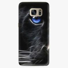iSaprio Plastový kryt - Black Puma - Samsung Galaxy S7 Edge