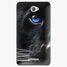 iSaprio Plastový kryt - Black Puma - Sony Xperia E4