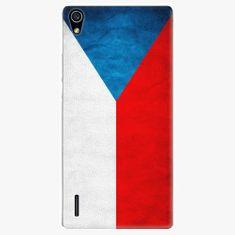 iSaprio Plastový kryt - Czech Flag - Huawei Ascend P7