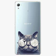 iSaprio Plastový kryt - Crazy Cat 01 - Sony Xperia Z3+ / Z4