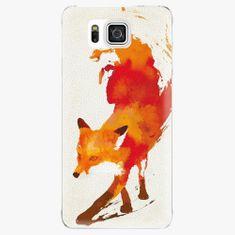 iSaprio Plastový kryt - Fast Fox - Samsung Galaxy Alpha