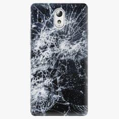 iSaprio Plastový kryt - Cracked - Lenovo P1m
