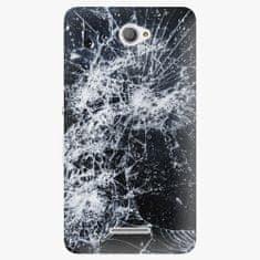 iSaprio Plastový kryt - Cracked - Sony Xperia E4