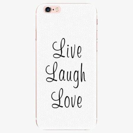 iSaprio Plastový kryt - Live Laugh Love - iPhone 7 Plus