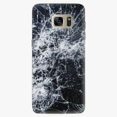iSaprio Plastový kryt - Cracked - Samsung Galaxy S7 Edge