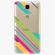 iSaprio Plastový kryt - Color Stripes 03 - Huawei Y6 Pro