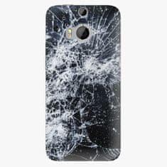iSaprio Plastový kryt - Cracked - HTC One M8