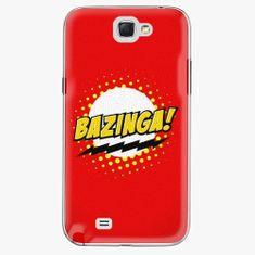iSaprio Plastový kryt - Bazinga 01 - Samsung Galaxy Note 2