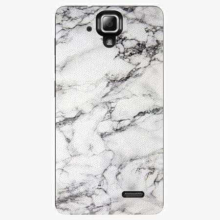 iSaprio Plastový kryt - White Marble 01 - Lenovo A536