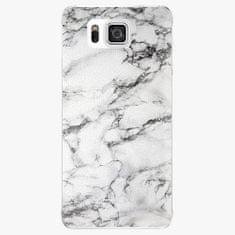 iSaprio Plastový kryt - White Marble 01 - Samsung Galaxy Alpha