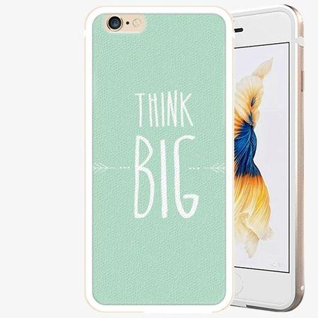 iSaprio Plastový kryt - Think Big - iPhone 6 Plus/6S Plus - Gold