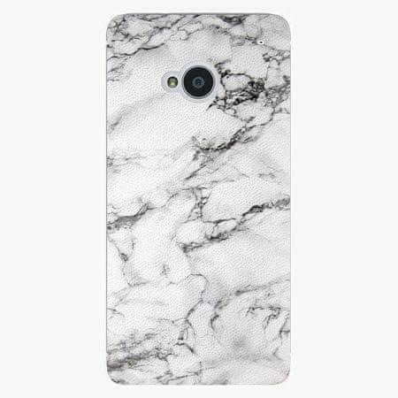 iSaprio Plastový kryt - White Marble 01 - HTC One M7
