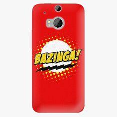 iSaprio Plastový kryt - Bazinga 01 - HTC One M8