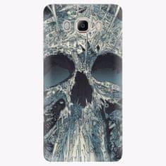 iSaprio Plastový kryt - Abstract Skull - Samsung Galaxy J7 2016