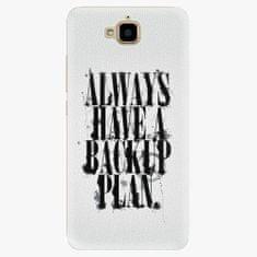 iSaprio Plastový kryt - Backup Plan - Huawei Y6 Pro