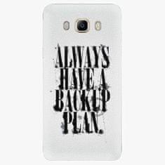 iSaprio Plastový kryt - Backup Plan - Samsung Galaxy J7 2016