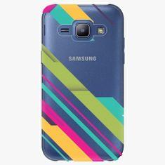 iSaprio Plastový kryt - Color Stripes 03 - Samsung Galaxy J1
