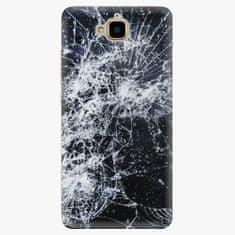 iSaprio Plastový kryt - Cracked - Huawei Y6 Pro