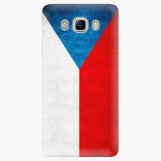 iSaprio Plastový kryt - Czech Flag - Samsung Galaxy J7 2016