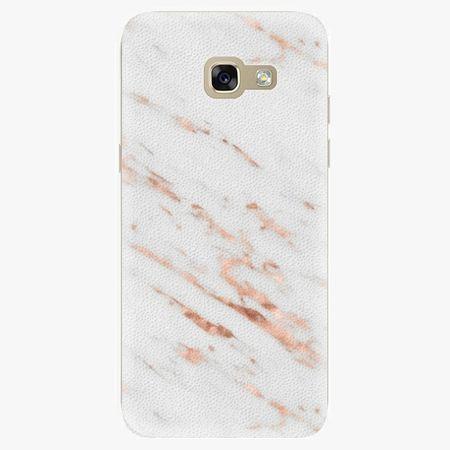 iSaprio Silikonové pouzdro - Rose Gold Marble - Samsung Galaxy A5 2017