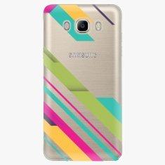 iSaprio Plastový kryt - Color Stripes 03 - Samsung Galaxy J7 2016