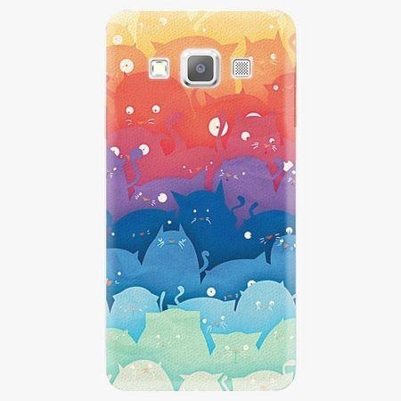 iSaprio Plastový kryt - Cats World - Samsung Galaxy A7