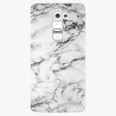 iSaprio Plastový kryt - White Marble 01 - LG G2 (D802B)