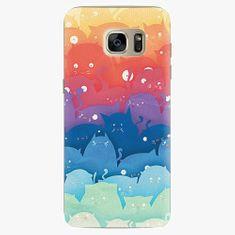 iSaprio Plastový kryt - Cats World - Samsung Galaxy S7 Edge