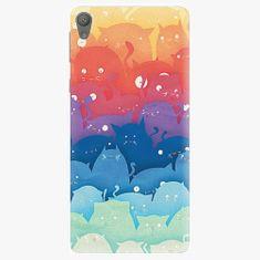 iSaprio Plastový kryt - Cats World - Sony Xperia E5