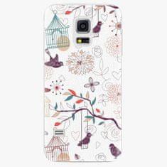 iSaprio Plastový kryt - Birds - Samsung Galaxy S5 Mini