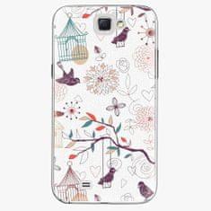 iSaprio Plastový kryt - Birds - Samsung Galaxy Note 2