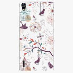 iSaprio Plastový kryt - Birds - Huawei Ascend P7