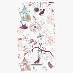 iSaprio Plastový kryt - Birds - Sony Xperia E4