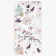 iSaprio Plastový kryt - Birds - Lenovo P1m