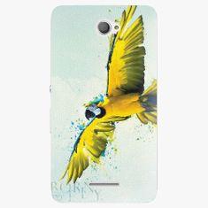 iSaprio Plastový kryt - Born to Fly - Sony Xperia E4