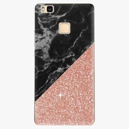 iSaprio Plastový kryt - Rose and Black Marble - Huawei Ascend P9 Lite