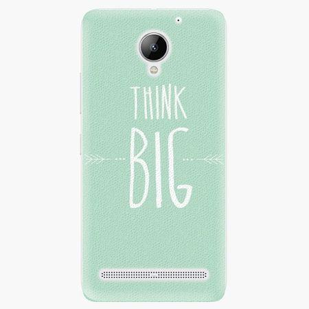 iSaprio Plastový kryt - Think Big - Lenovo C2