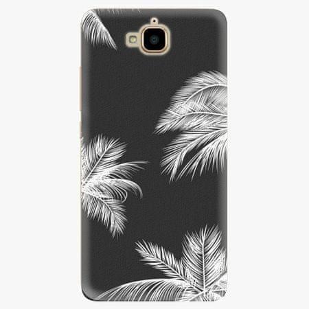 iSaprio Plastový kryt - White Palm - Huawei Y6 Pro