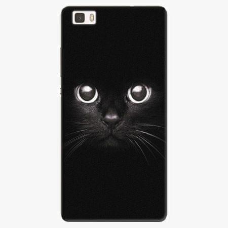 iSaprio Plastový kryt - Black Cat - Huawei Ascend P8 Lite
