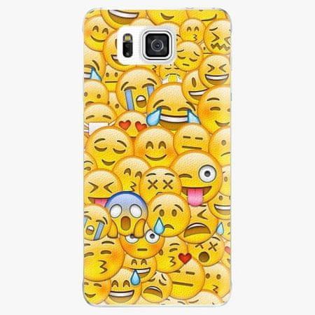 iSaprio Plastový kryt - Emoji - Samsung Galaxy Alpha