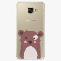 iSaprio Plastový kryt - Brown Bear - Samsung Galaxy A3 2016