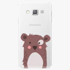 iSaprio Plastový kryt - Brown Bear - Samsung Galaxy A7