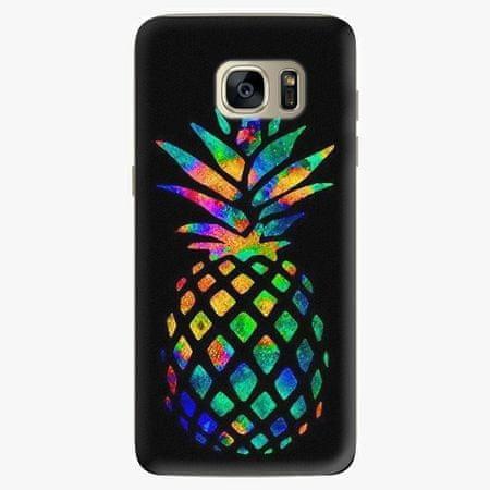 iSaprio Plastový kryt - Rainbow Pineapple - Samsung Galaxy S7