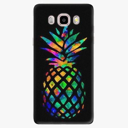 iSaprio Silikonové pouzdro - Rainbow Pineapple - Samsung Galaxy J5 2016