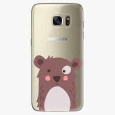 iSaprio Plastový kryt - Brown Bear - Samsung Galaxy S7 Edge