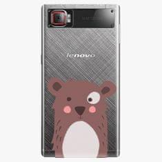 iSaprio Plastový kryt - Brown Bear - Lenovo Z2 Pro