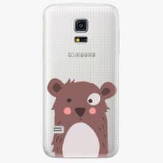 iSaprio Plastový kryt - Brown Bear - Samsung Galaxy S5 Mini