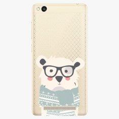 iSaprio Plastový kryt - Bear With Scarf - Xiaomi Redmi 3