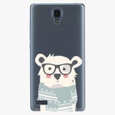 iSaprio Plastový kryt - Bear With Scarf - Xiaomi Redmi Note