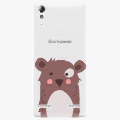 iSaprio Plastový kryt - Brown Bear - Lenovo A6000 / K3
